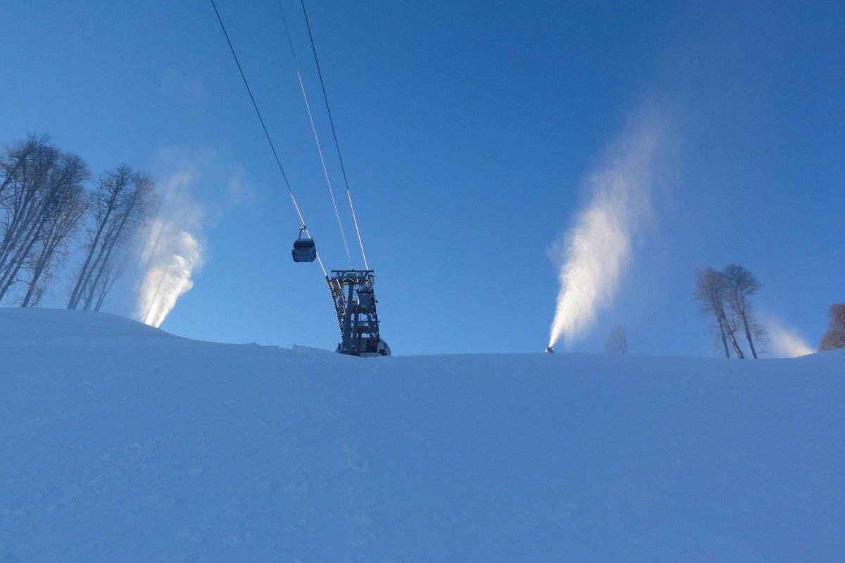 master plan of snow